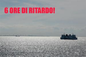 Avaria in mare per il traghetto Egnazia. A Catania con 6 ore di ritardo